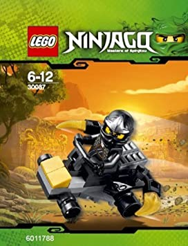 lego ninjago cole zxs voiture jeu de construction 30087 dans un