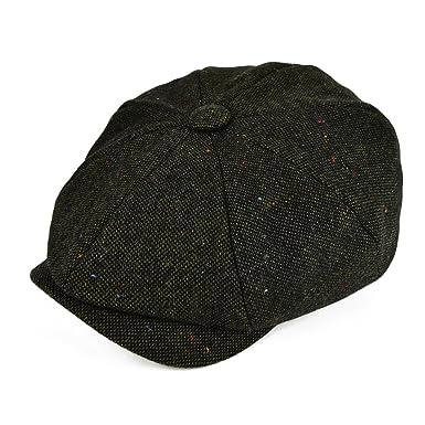 6622b65321462 VOBOOM Wool Tweed Newsboy Gatsby Ivy Cap Golf Cabbie Driving Hat   Amazon.co.uk  Clothing