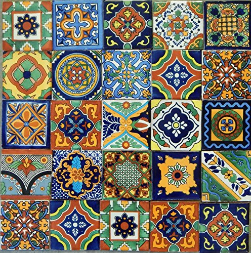 Hand Painted Ceramic Wall Tile - 7