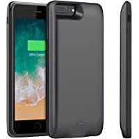 BStrive Battery Case for iPhone 7 Plus/iPhone 8 Plus (Black)