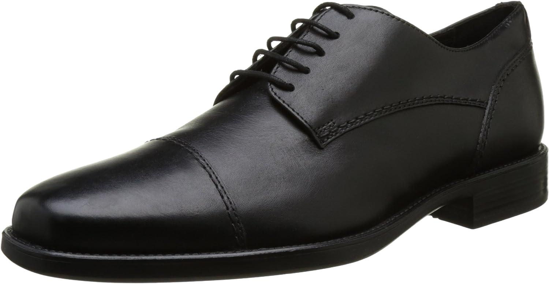 Geox Uomo Federico A, Zapatos de Cordones Derby para Hombre