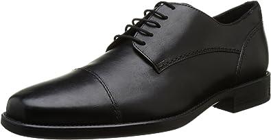 TALLA 40 EU. Geox Uomo Federico A, Zapatos de Cordones Derby para Hombre