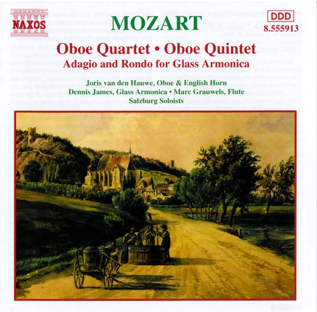 MOZART: Oboe sale Quartet K. New product 370 Quintet 406a