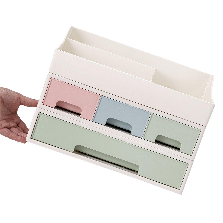 Wuyue Hua Cosmétique Organiseur Maquillage Boîte de Rangement avec ...