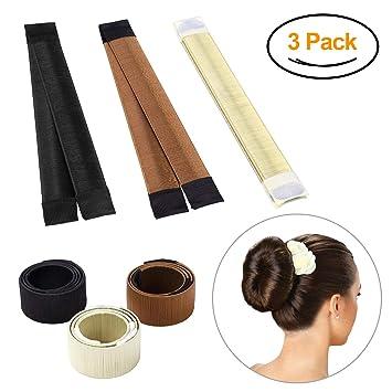 Amazon Hair Bun Maker Magic Bun Shaper Donut Hair Styling