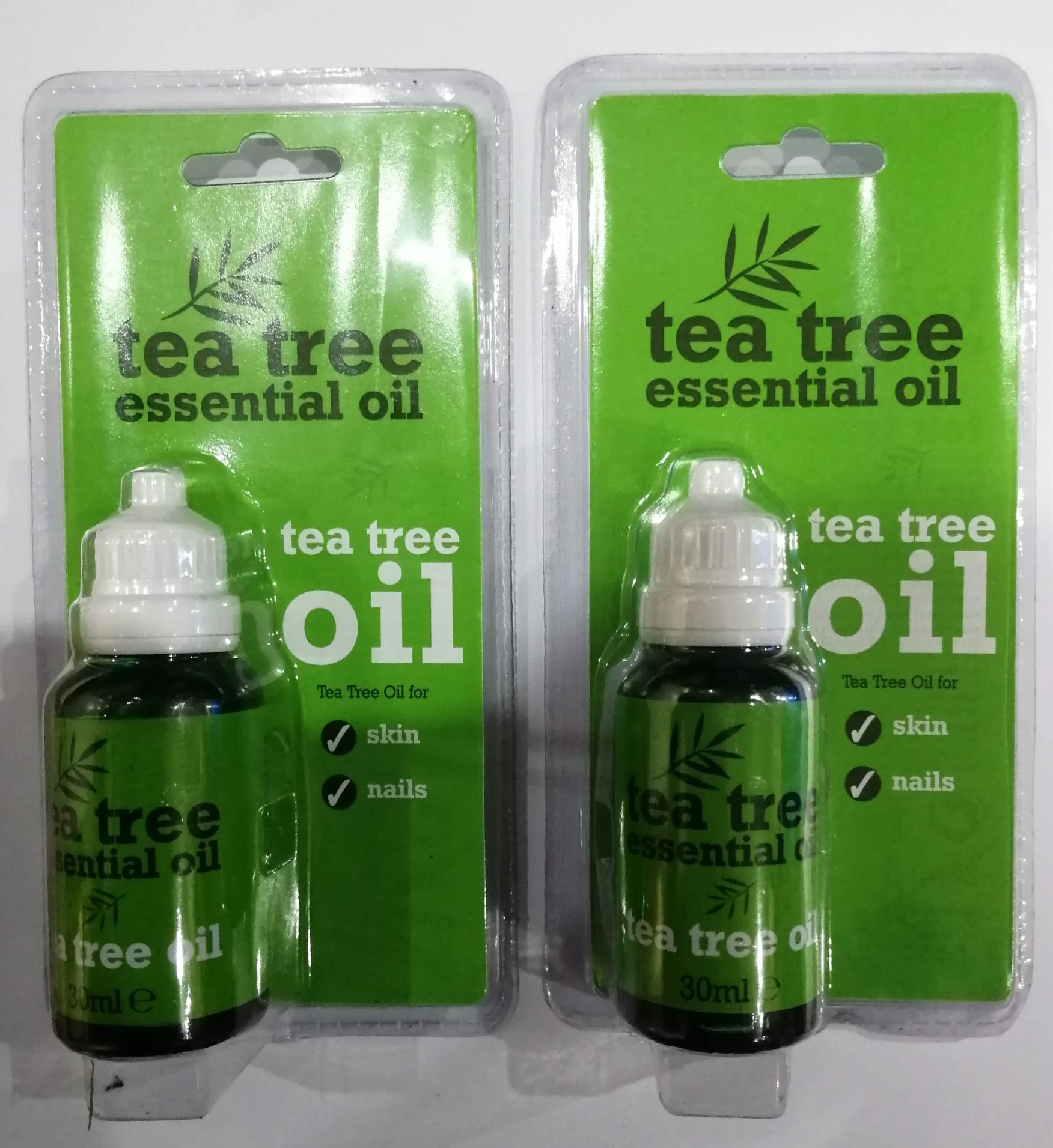 Tea Tree Essential Oil Tea Tree Essential Oil Pure 30ml (Pack of 2)