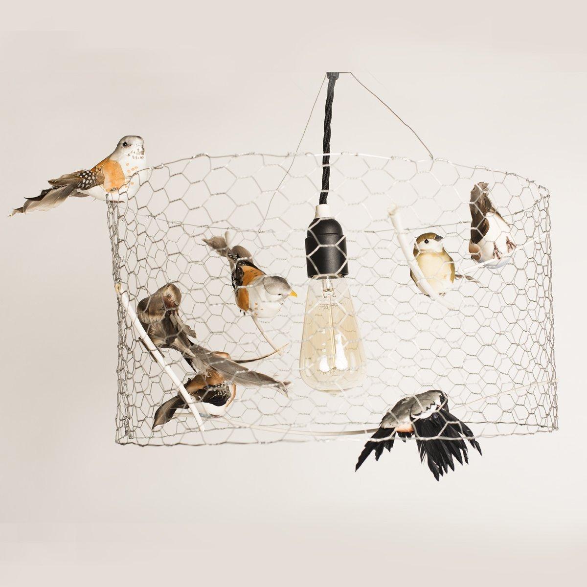 lámpara de techo tipo jaula lámpara colgante lámpara estilo campo lámparas de techo lámpara infantil lámpara para negocio