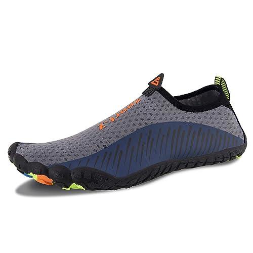 eeebeeb174e1e Zapatos de Agua para Hombre Mujer Zapatillas de Deporte Exterior para  Secado Rš¢pid para Barefoot Surf Piscina Playa Vela Kayak Calzado de  Nataciš®n  ...