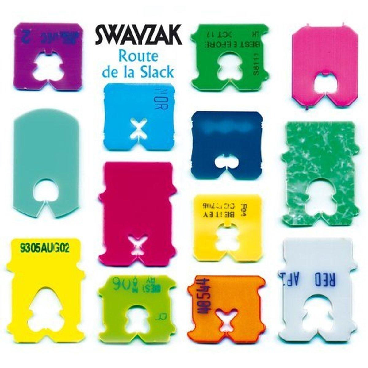 CD : Swayzak - Route De La Slack: Remixes And Rarities (Remixes, 2PC)