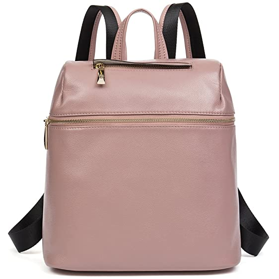 Amazon.com: Genuine Leather Ladies Backpack Purse Cute Small ...