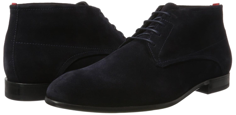 HUGO Herren Dressapp_desb_sdfur 10201371 01 Blue) Desert Boots Blau (Dark Blue) 01 598e64