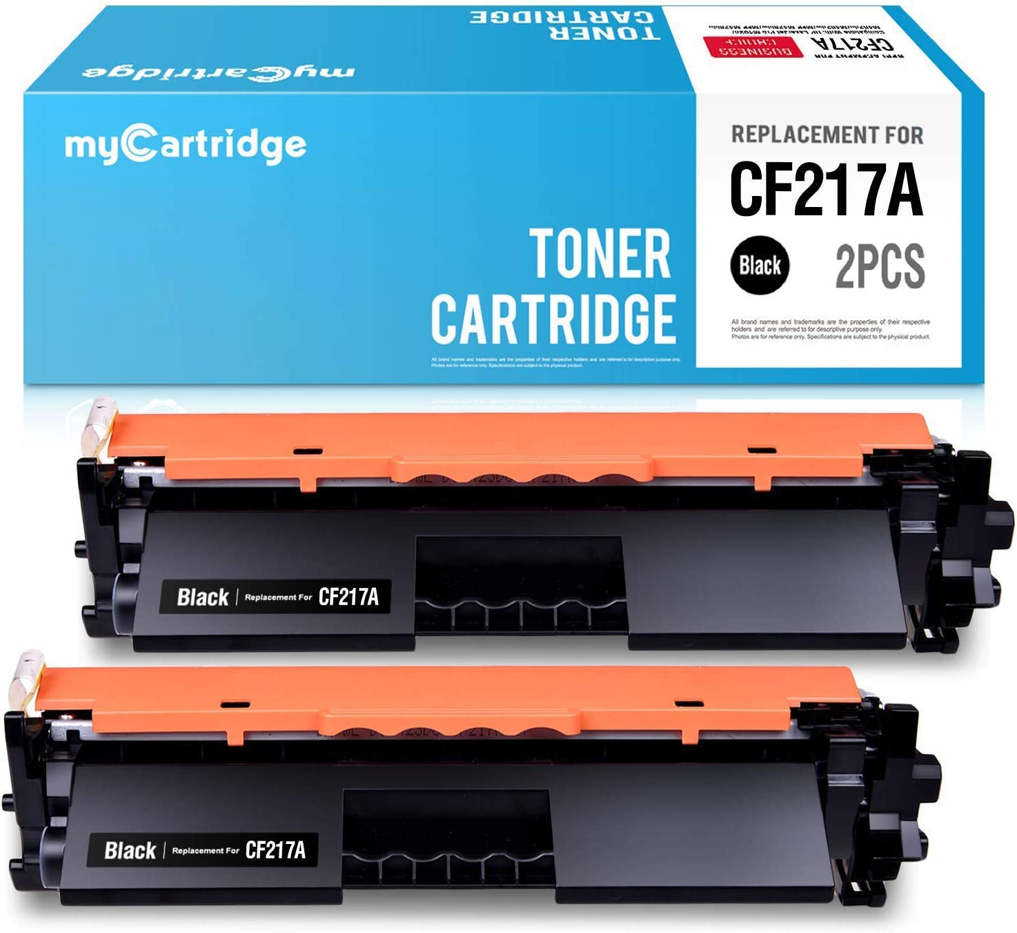 myCartridge Compatible Toner Cartridge Replacement for HP 17A CF217A M102w M130nw Toner Cartridge with Chip Fit for HP MFP M130fw Pro M102w M130fn M130a M102a Laserjet Printer