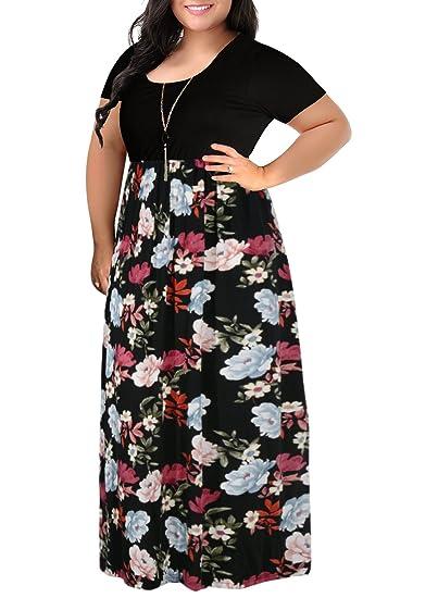 Nemidor Women S Chevron Print Summer Short Sleeve Plus Size Casual