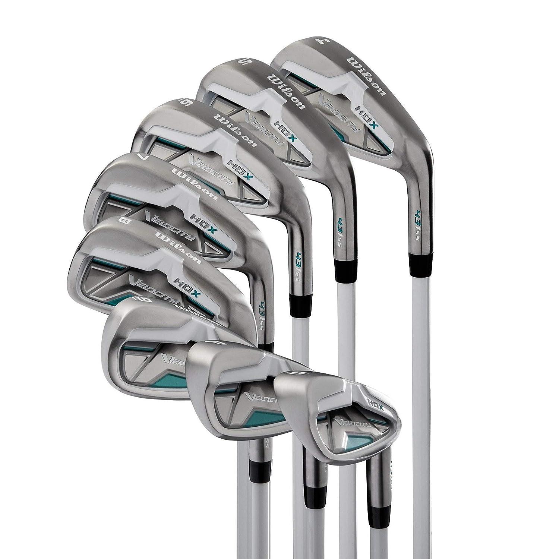 Wilson Velocity HDX Women Right Hand Stiff Flex Graphite Iron 4-PW SW Golf Set