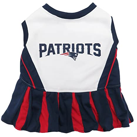 Amazon.com   New England Patriots NFL Cheerleader Dress For Dogs ... c63f05db8