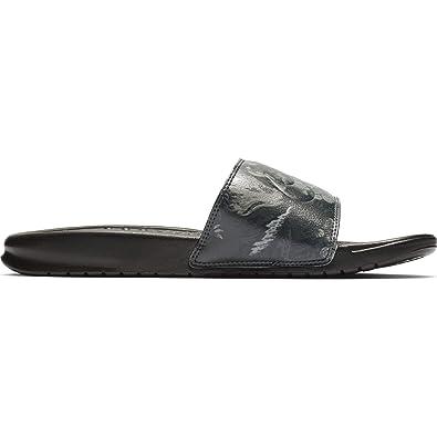 1919b35766 Nike Sandalia WMNS Benassi JDI Print Black Black (US 6)