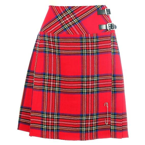 Schwarz Kilt Neu Damen Scotland Schottisch The Company deBoCx