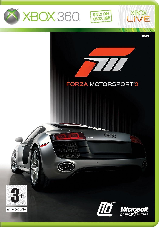 Microsoft Forza Motorsport 3, Xbox 360, EN - Juego (Xbox 360, EN, Xbox 360, Racing, E (para todos)): Amazon.es: Videojuegos