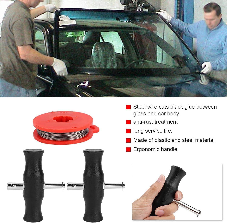 montaje de vidrio c/ómodo y hermoso tipo de sierra de alambre para desmontaje del autom/óvil delantero Montaje de parabrisas
