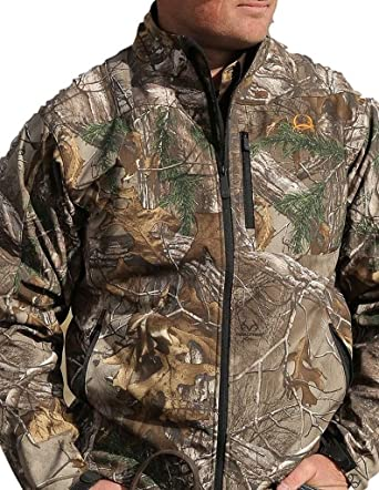6ef49be34e533 Cinch Men s Realtree Xtra Camo Bonded Jacket Multi Medium at Amazon Men s  Clothing store
