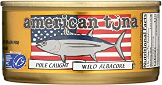product image for American Tuna, Tuna Albacore Pole Caught Salt, 6 Ounce