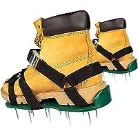 HBDY Gazon beluchter schoenen, handmatige gazon beluchters 26 spikes beluchting gazon sandalen, verstelbare bandjes en…