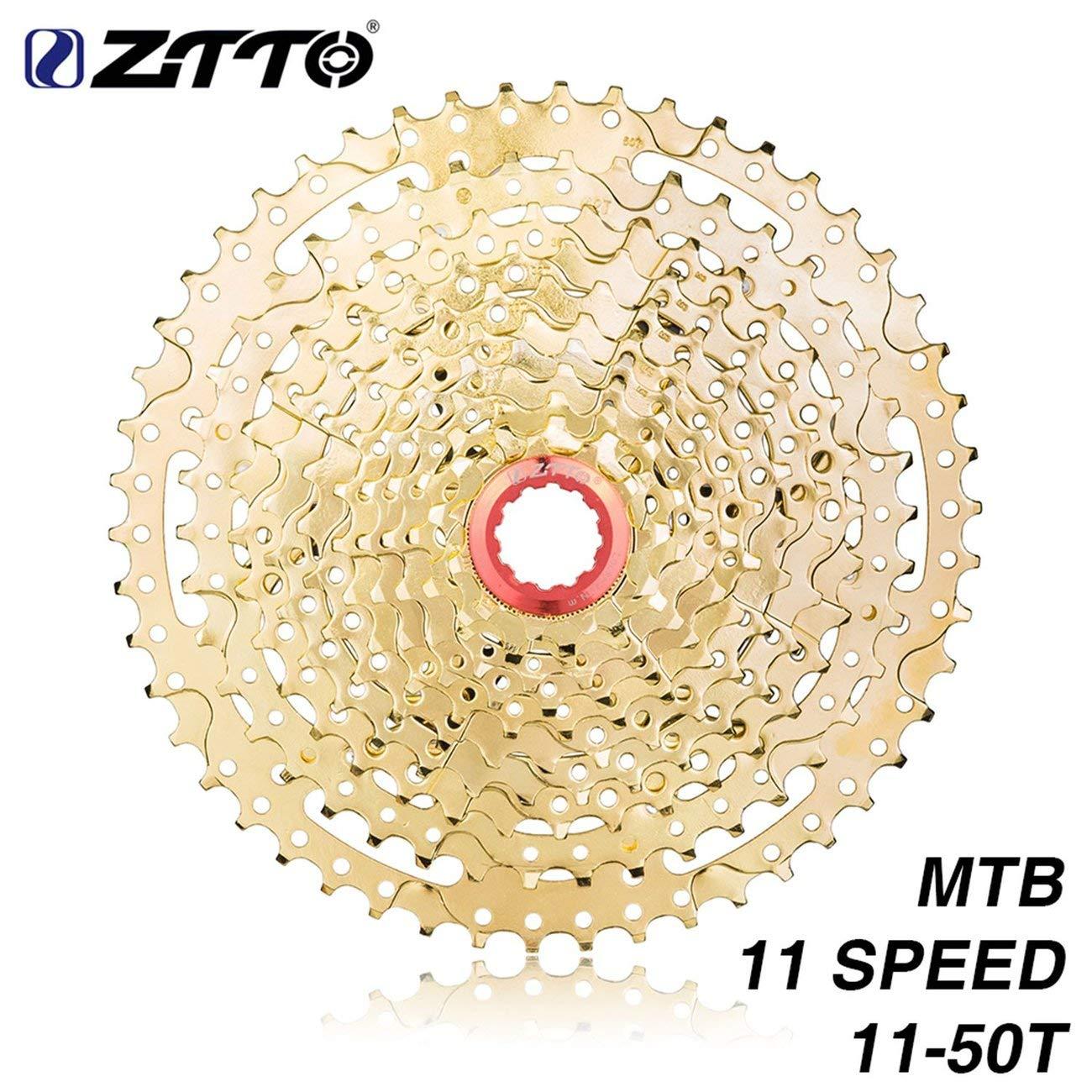 Jiobapiongxin ZTTO 11 Speed Cassette 11-50T Compatible Bike High Steel Steel Gear