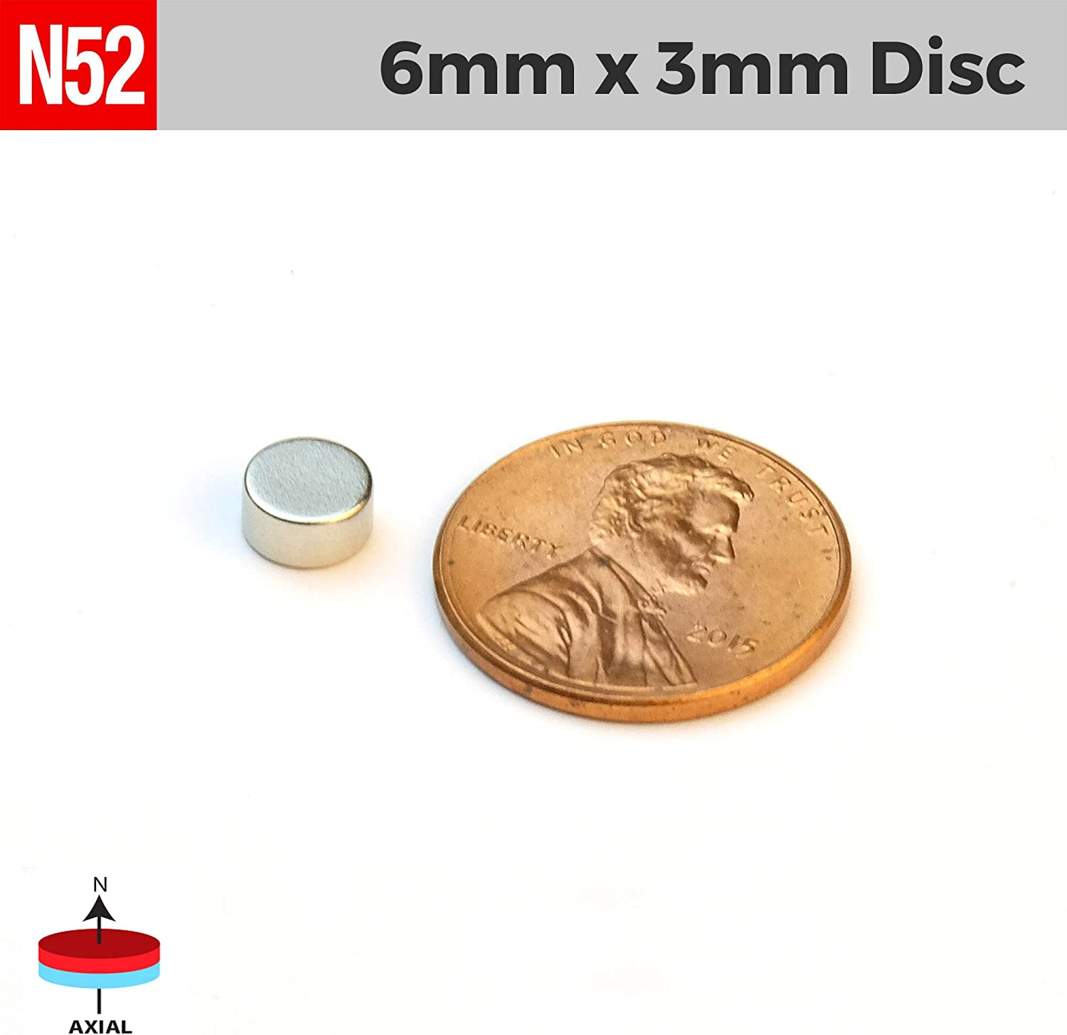 Arts 100pcs 3mm x 1mm 1//8 x 1//32 Small Tiny Round Disc Magnets for Refrigerator DIY Science Crafts by NEOGAUSS N52