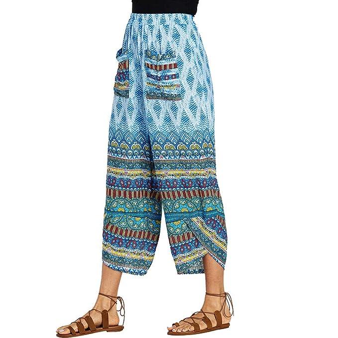 MOVERV-Pantalones de Yoga Sueltos Harén Mujer, Leggings de ...