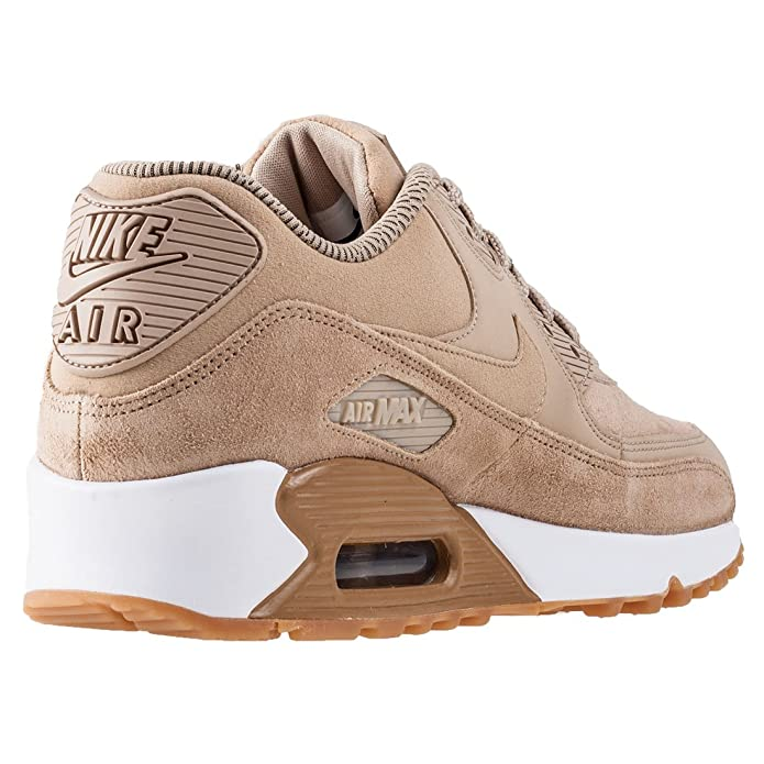 brand new 3f049 dc044 Nike Schuhe Air Max 90 SE WMNS mushroom-mushroom-gum light brown-white ( 881105-200) 42,5 braun: Amazon.es: Zapatos y complementos