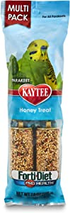 Kaytee Forti-Diet Pro Health Honey Bird Treat Sticks For Parakeets, 7-Ounce
