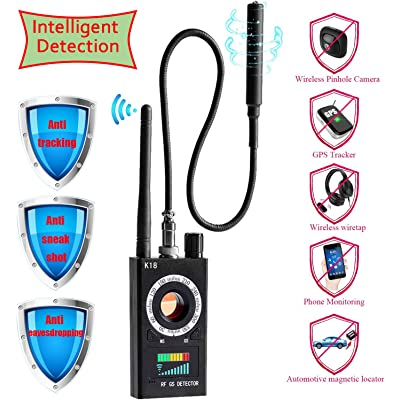 Anti Spy RF Detector & Camera Detector,Bug Detector, Hidden Camera Detector, GSM Listening Device Finder Radar Radio Scanner Wireless Signal Finder: Car Electronics