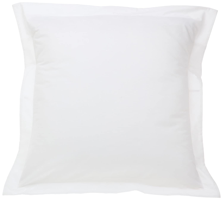 amazoncom fresh ideas european tailored poplin pillow sham  - amazoncom fresh ideas european tailored poplin pillow sham white home kitchen
