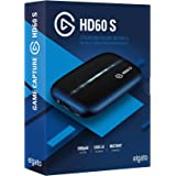 Elgato Game Capture HD60 S - stream, record and share your gameplay in 1080p60, superior low latency technology, USB 3.0, for PS4, Xbox One and Nintendo Switch