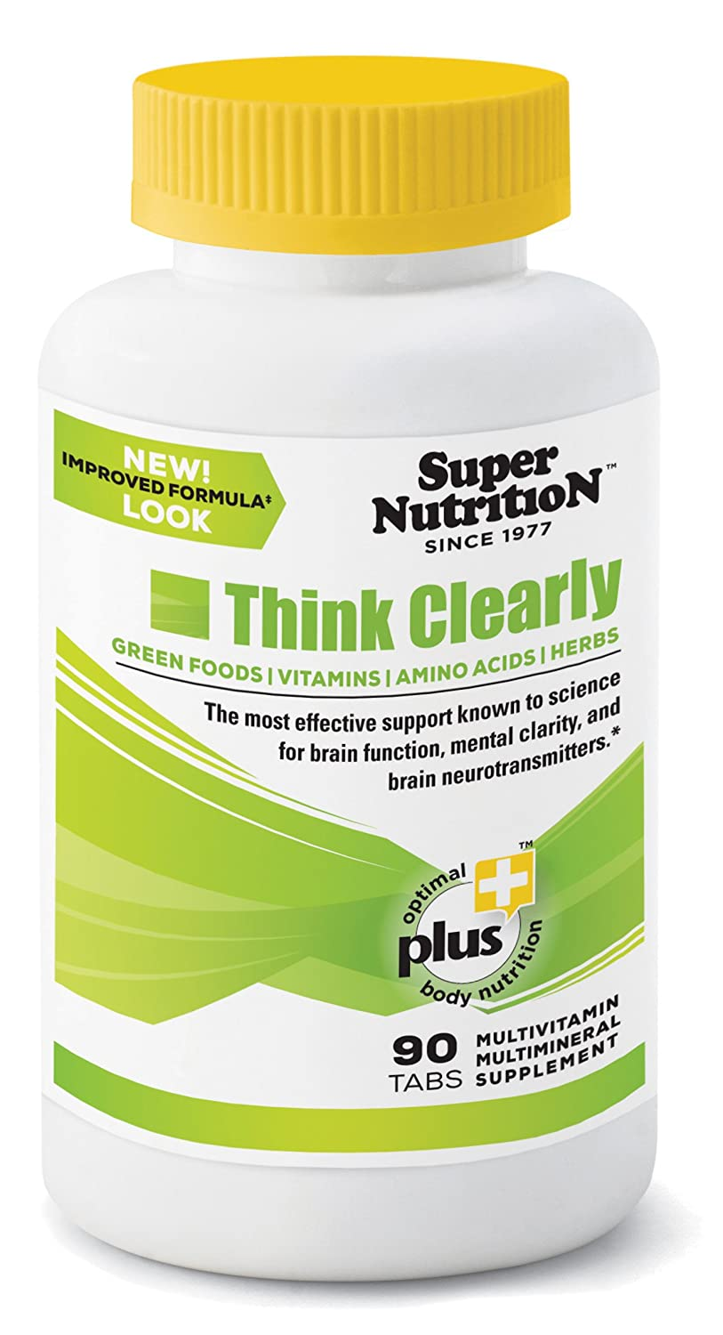 SuperNutrition Think Clearly, 90 Day Supply Best Value Pack