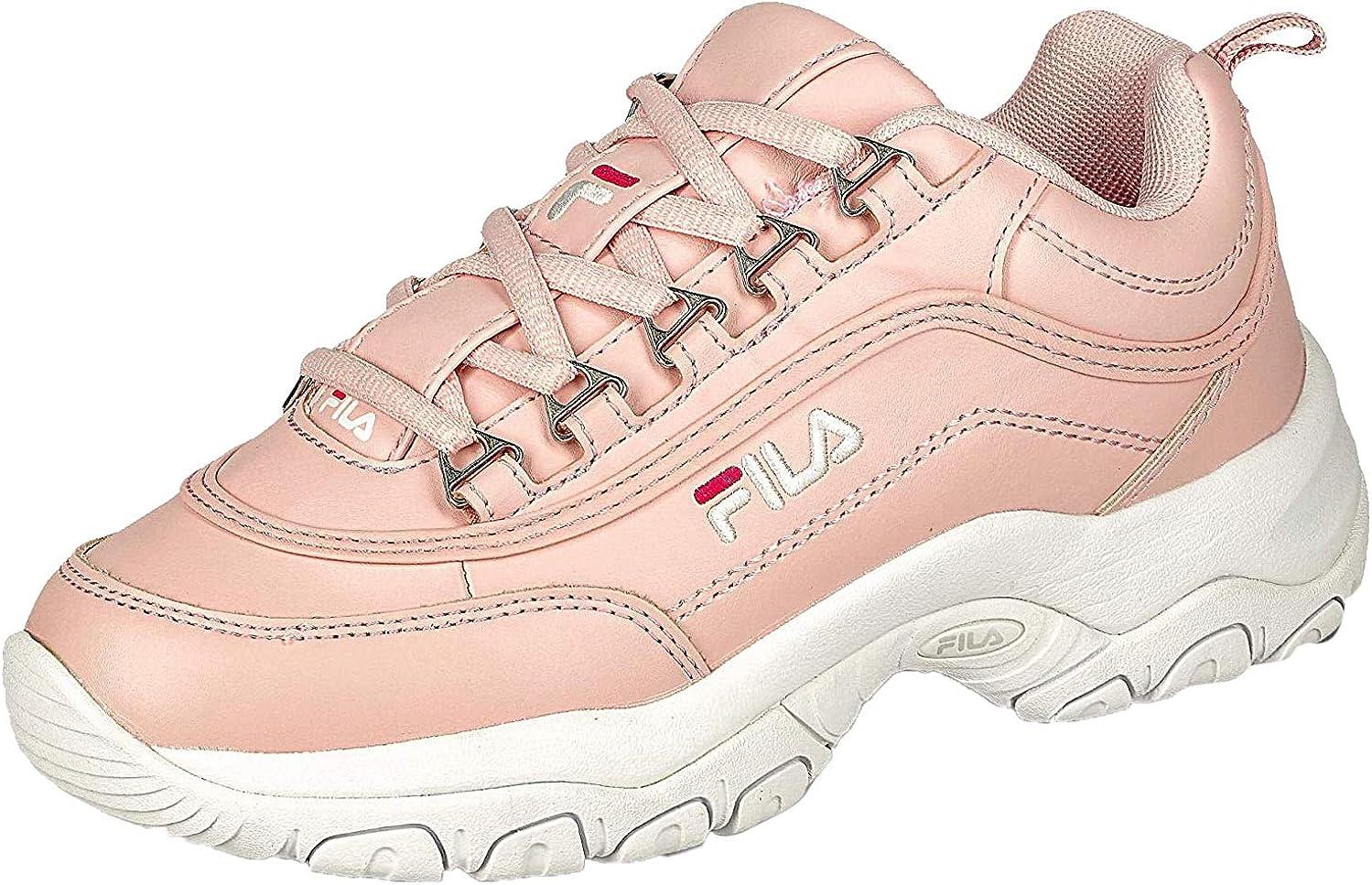 Fila Strada Low wmn, Zapatillas Altas para Mujer, Rosa Rosewater 71y, 36 EU: Amazon.es: Zapatos y complementos