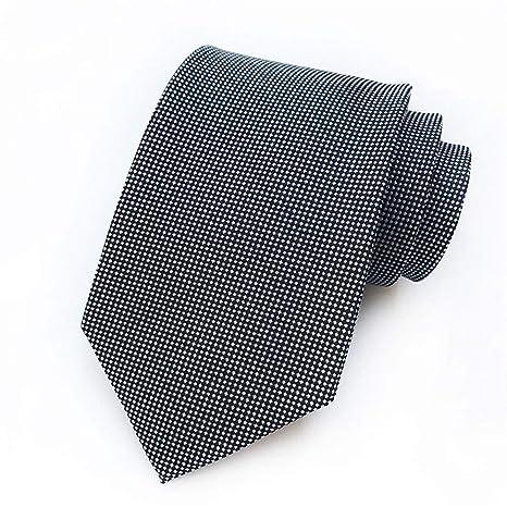 XJIUER corbata Ocasión de Negocios Traje Sección Corbata Poliéster ...
