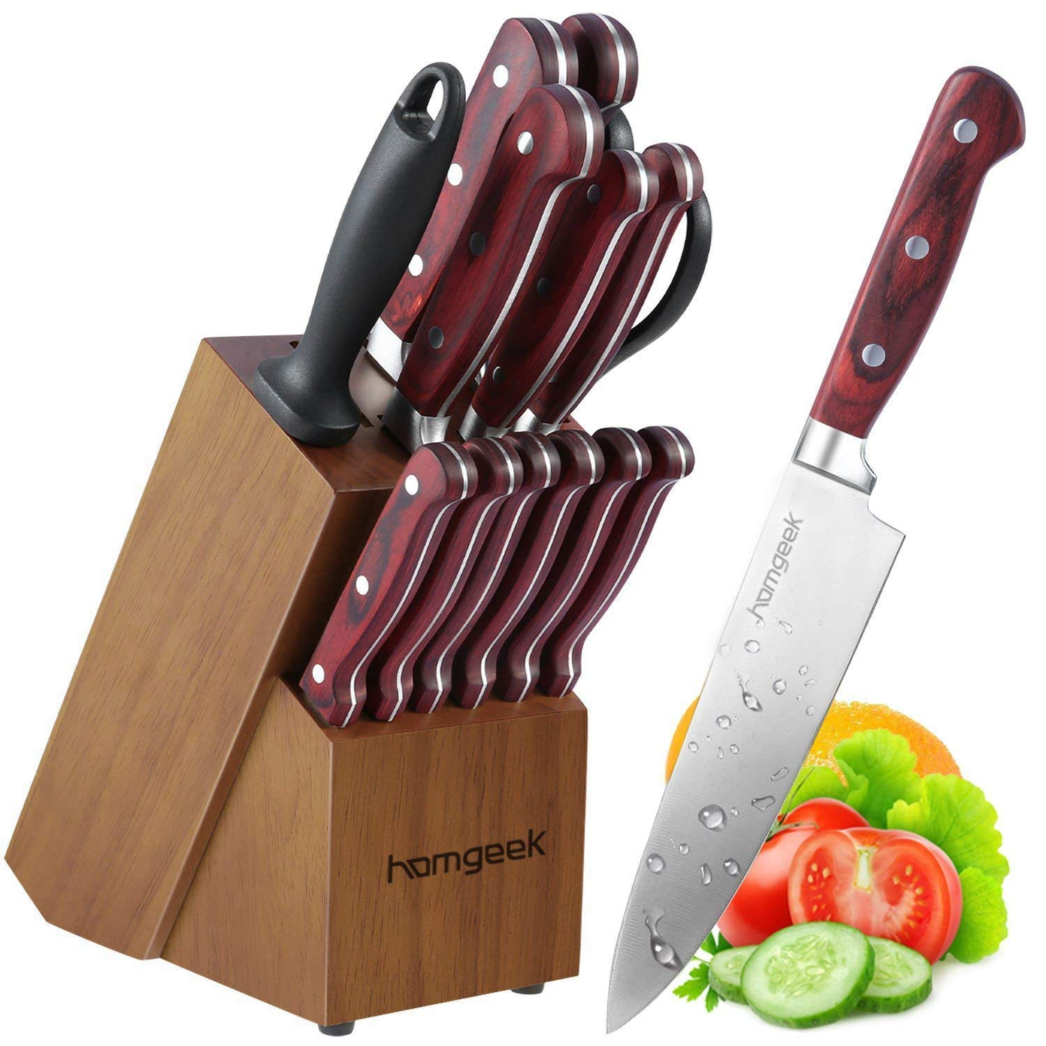 Set coltelli cucina homgeek