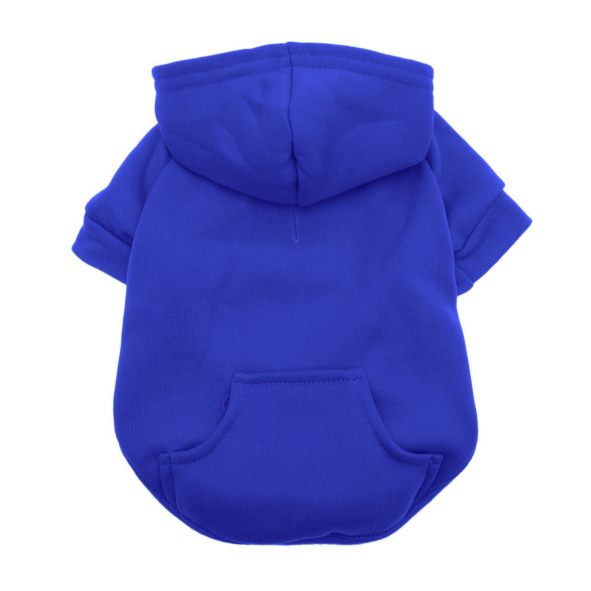 bluee X-Small bluee X-Small Barking Basics Dog Hoodie, X-Small, bluee
