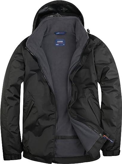 57ada12d6c98 Uneek UC620 Mens Adult Premium Outdoor Jacket Waterproof Coat Size XS-4XL   Amazon.co.uk  Clothing