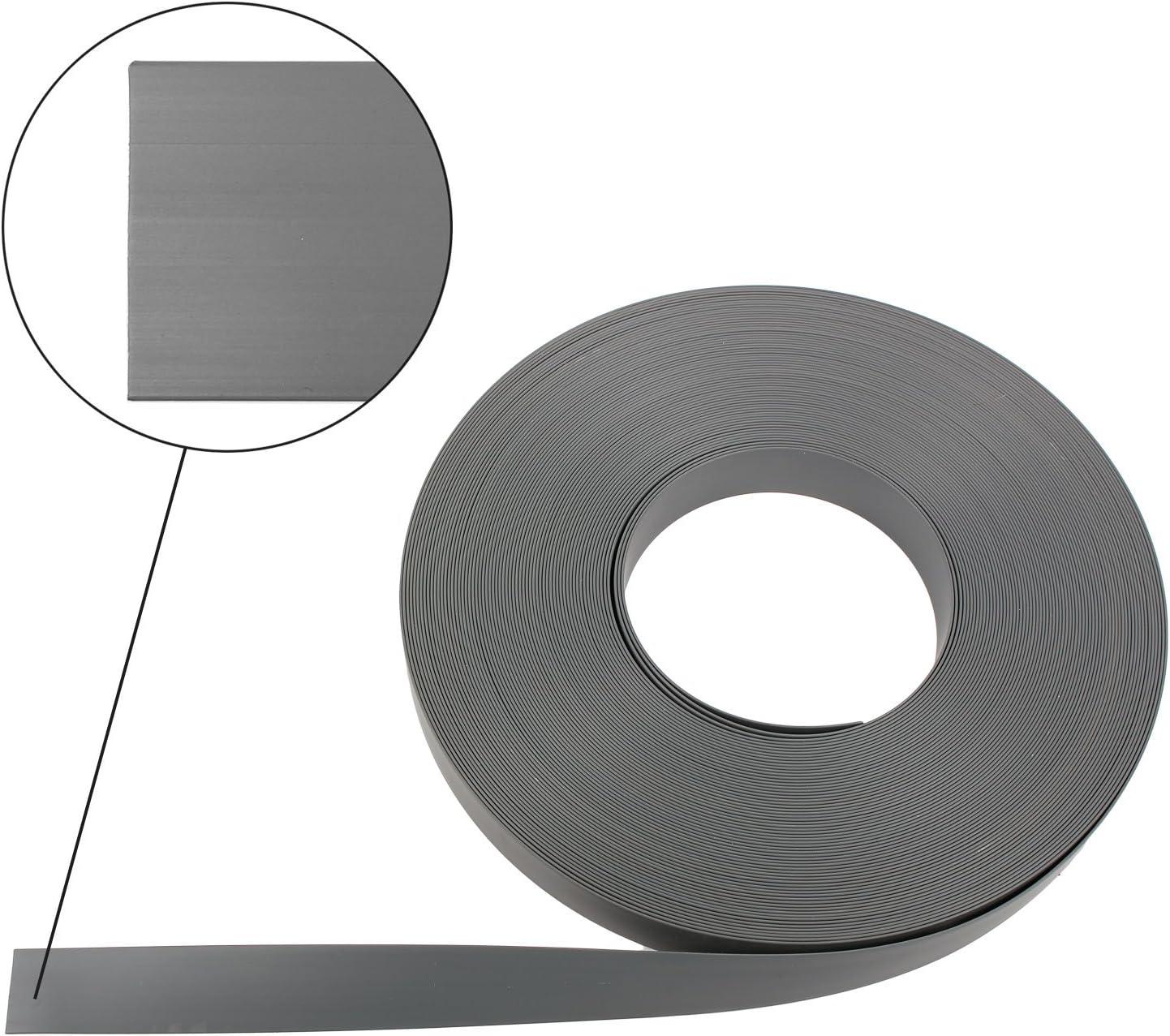 Einlegeband Leistenfüller Gummiprofil Weiß 60 Meter