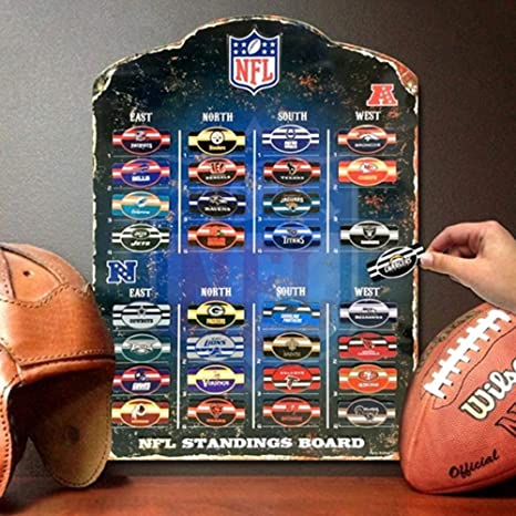 Image result for magnetic nfl standings board