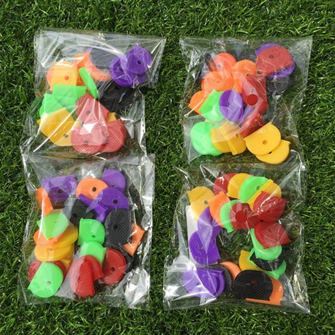 Paquete de 24 qianzhi Cubiertas para Llaves de pl/ástico Colorido