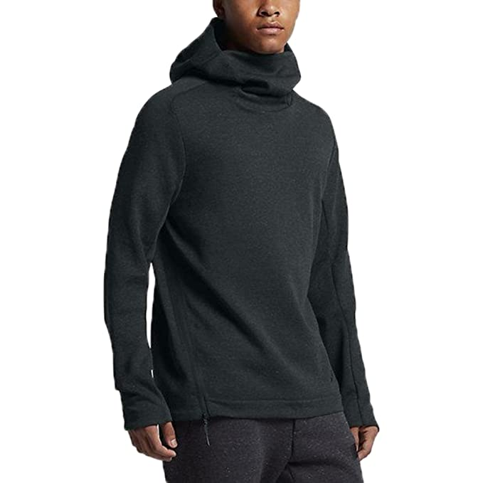 Nike Tech Fleece Funnel-Neck Hoodie Mens Style   805214-364 Size   S   Amazon.ca  Clothing   Accessories 700736f0ac77