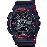 G-Shock GA-110HR Black/Red Series Black - Black / One Size