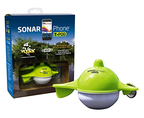 Image result for Vexilar Sonar Phone with Transducer Pod