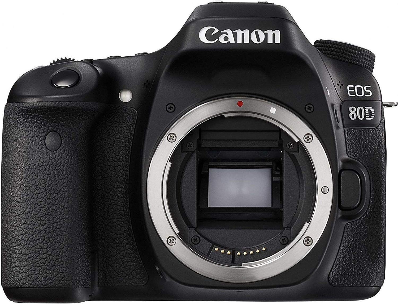 Canon EOS Cámara réflex Digital Solo Cuerpo (80d: Amazon.es ...