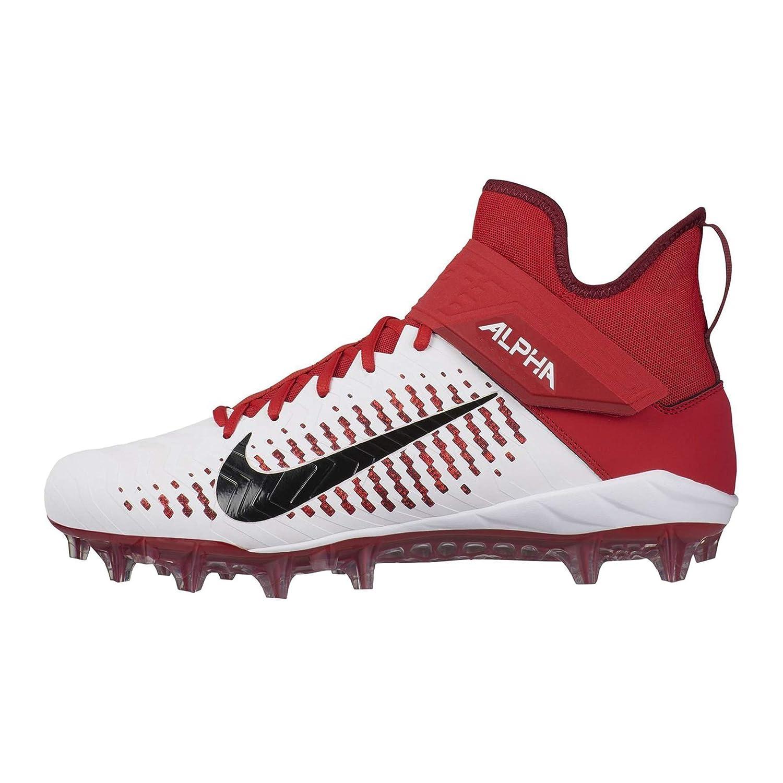 Mid Nike Schuhe Football American Pro Menace 2 Alpha Rasen