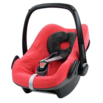 Bambiniwelt Sommerbezug Schonbezug Bezug Aus Frottee Kompatibel Mit Maxi Cosi Pebble Babyschale Coral Xx Baby