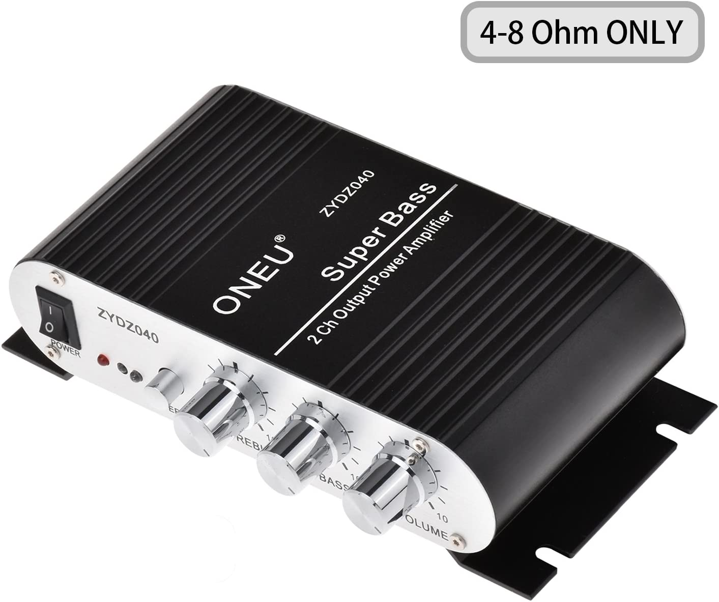 Car Audio Power Stereo Amplifier Amp 4 Channel Super Bass Sub woofer Music 12V
